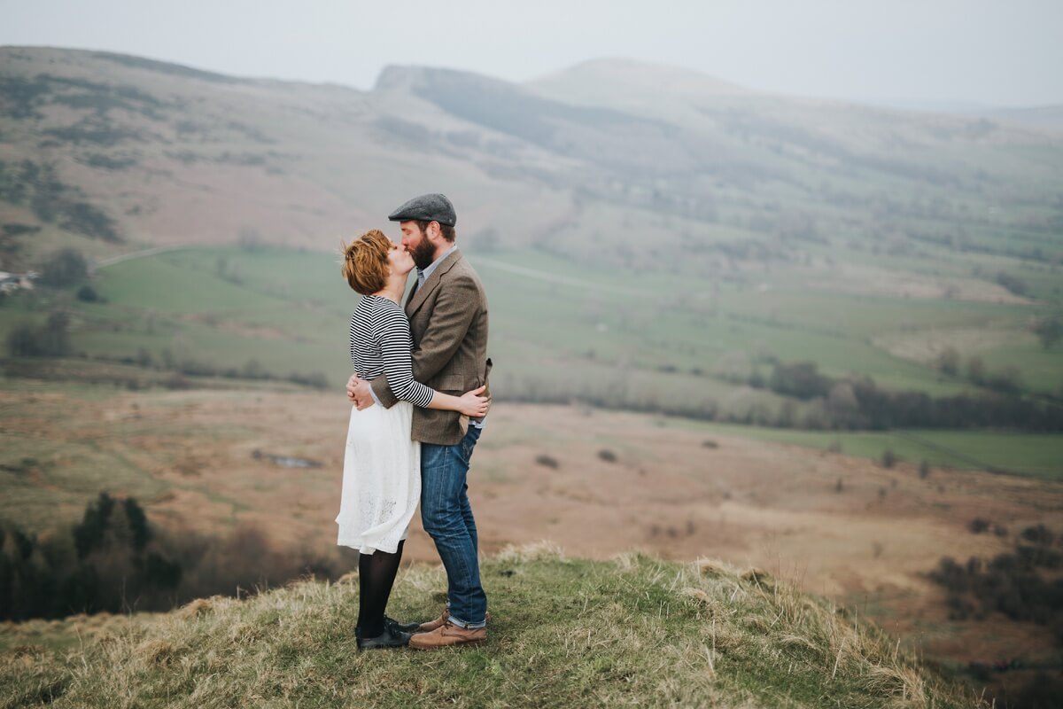 Mark and Hayley Peak District photographer Lincolnshire wedding photography engagement