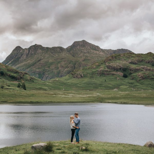 Scott and Jess lake district wedding photography engagement shoot windermere lincolnshire wedding photographer
