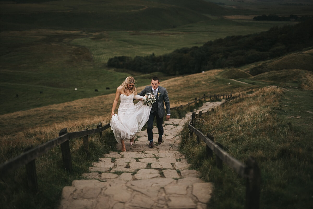 Castleton wedding photographer Losehill house hotel wedding photographer