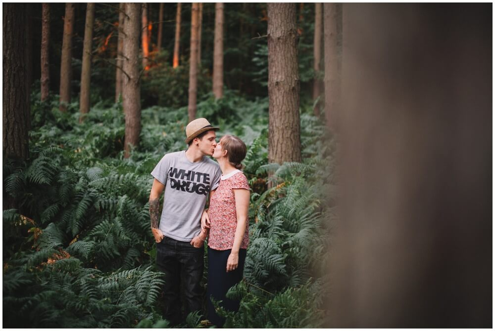 Lewis and Emma scunthorpe engagement wedding photography photographer Henry Lowther couples shoot Twigmoor woods