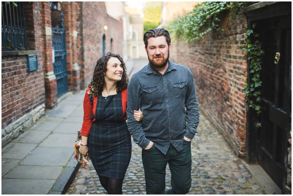 Alex and Jenni York Engagement photography wedding photographer Henry Lowther Yorkshire