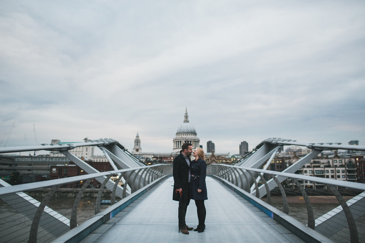 Iain and Catherine London Engagement Shoot couples session Henry Lowther