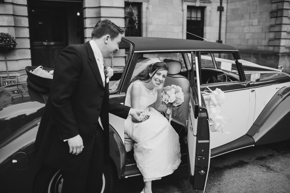 Matt and Hannah Crathorne Hall wedding photographer yorkshire wedding photography Henry Lowther