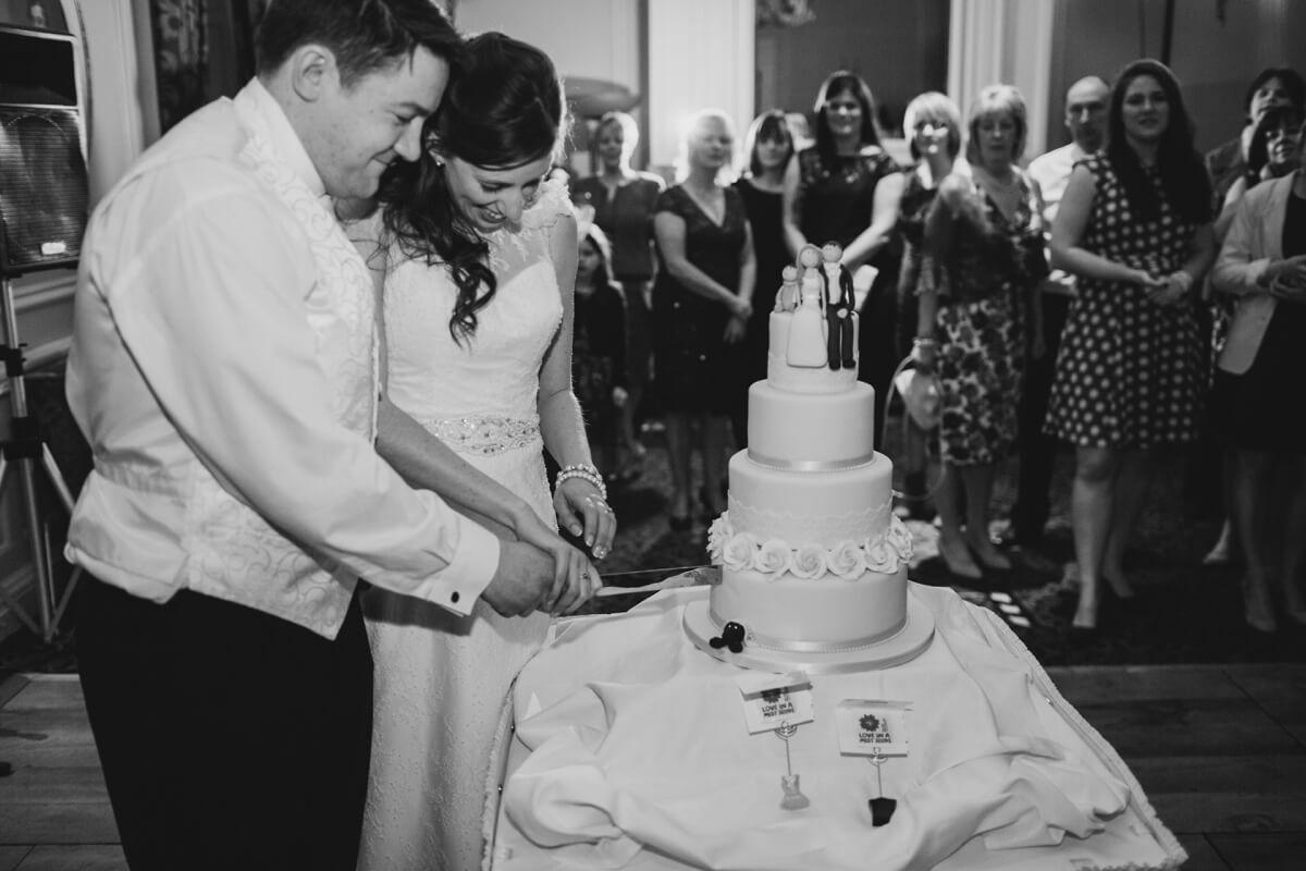 Matt and Hannah Crathorne Hall photography yorkshire wedding photographer Henry Lowther