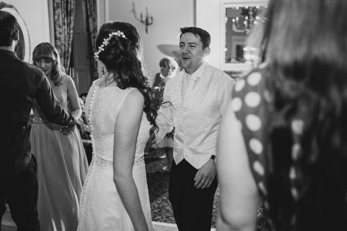 Matt and Hannah Crathorne Hall photography yorkshire wedding photographer Henry Lowther