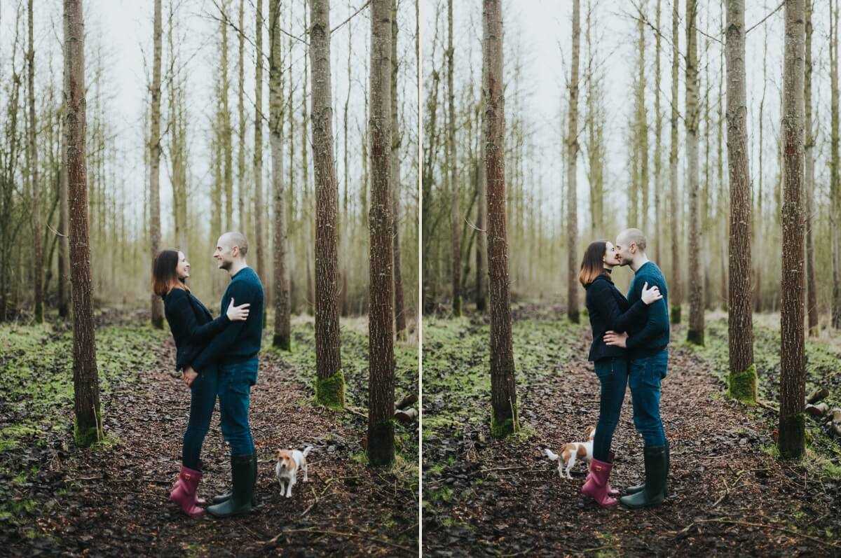 Phillip and Amy Lincolnshire engagement shoot wedding photography couples photographs