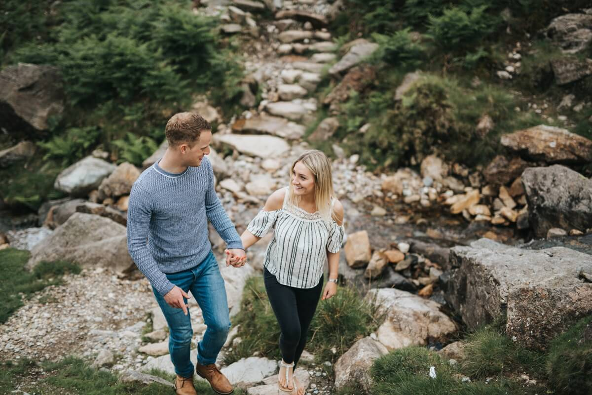 Scott and Jess lake district wedding photographer engagement shoot windermere lincolnshire wedding photography