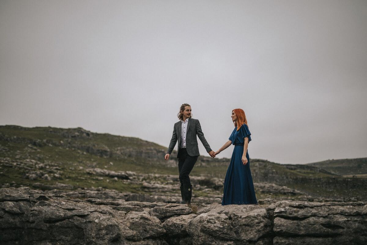 Malham cove yorkshire photographer leeds wedding photography skipton