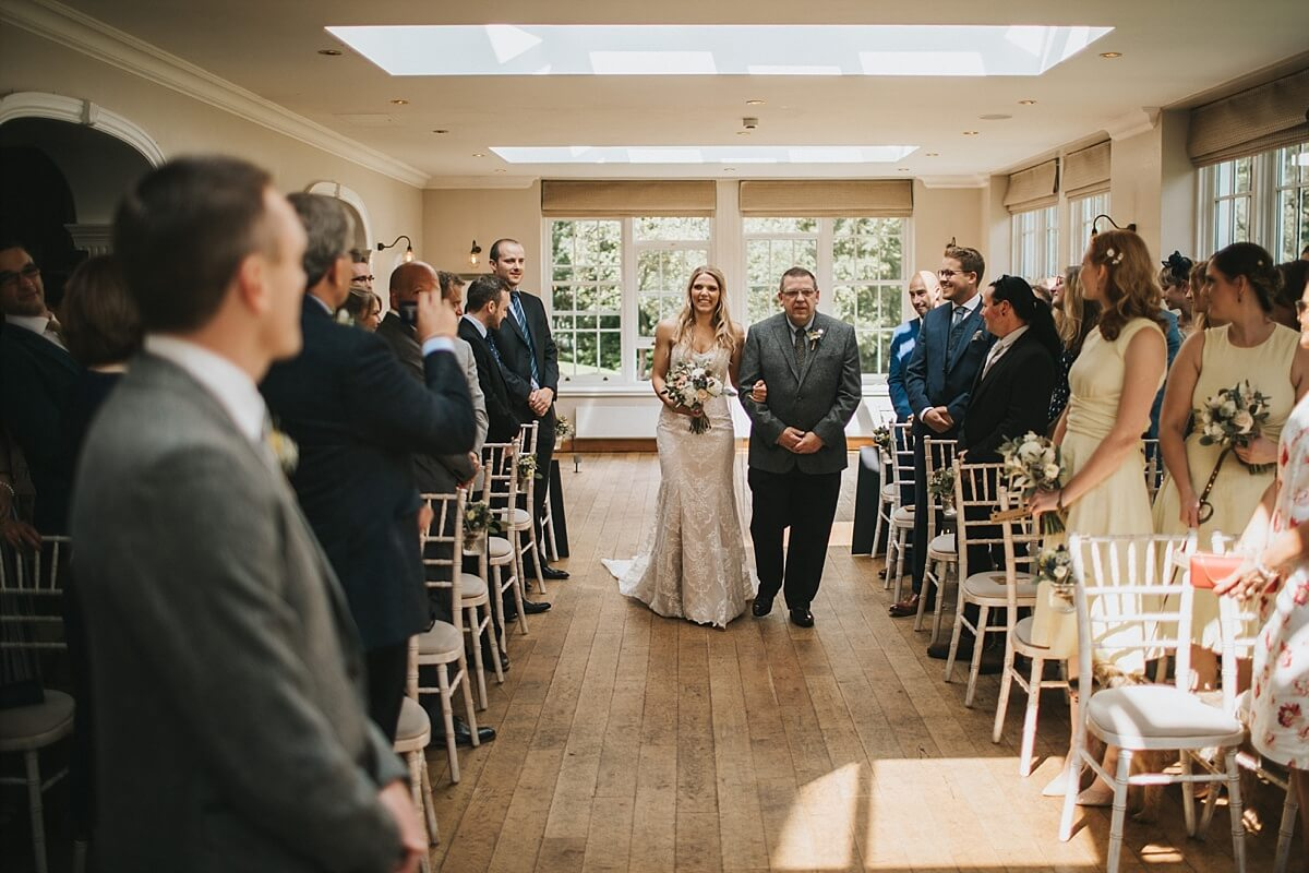 Peak district wedding photographer Losehill hotel wedding photography