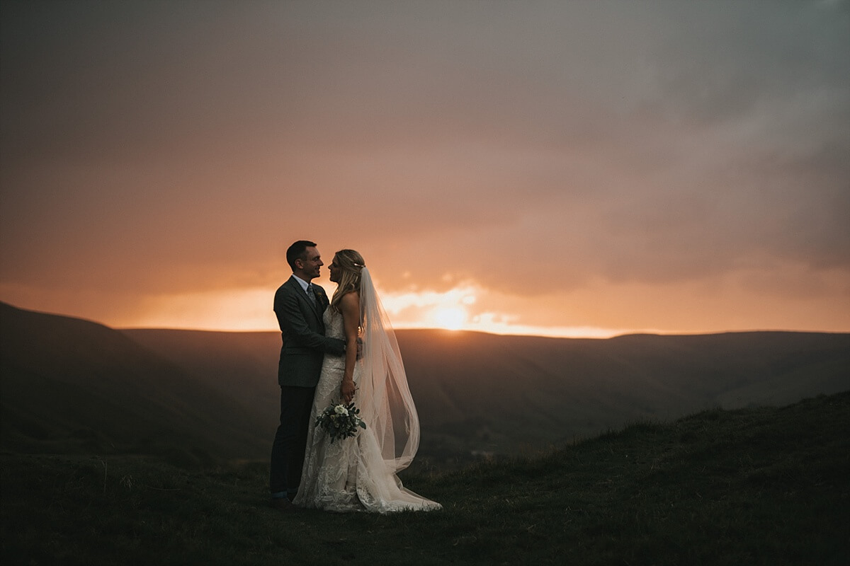 Castleton wedding photographer Losehill hotel wedding photographer
