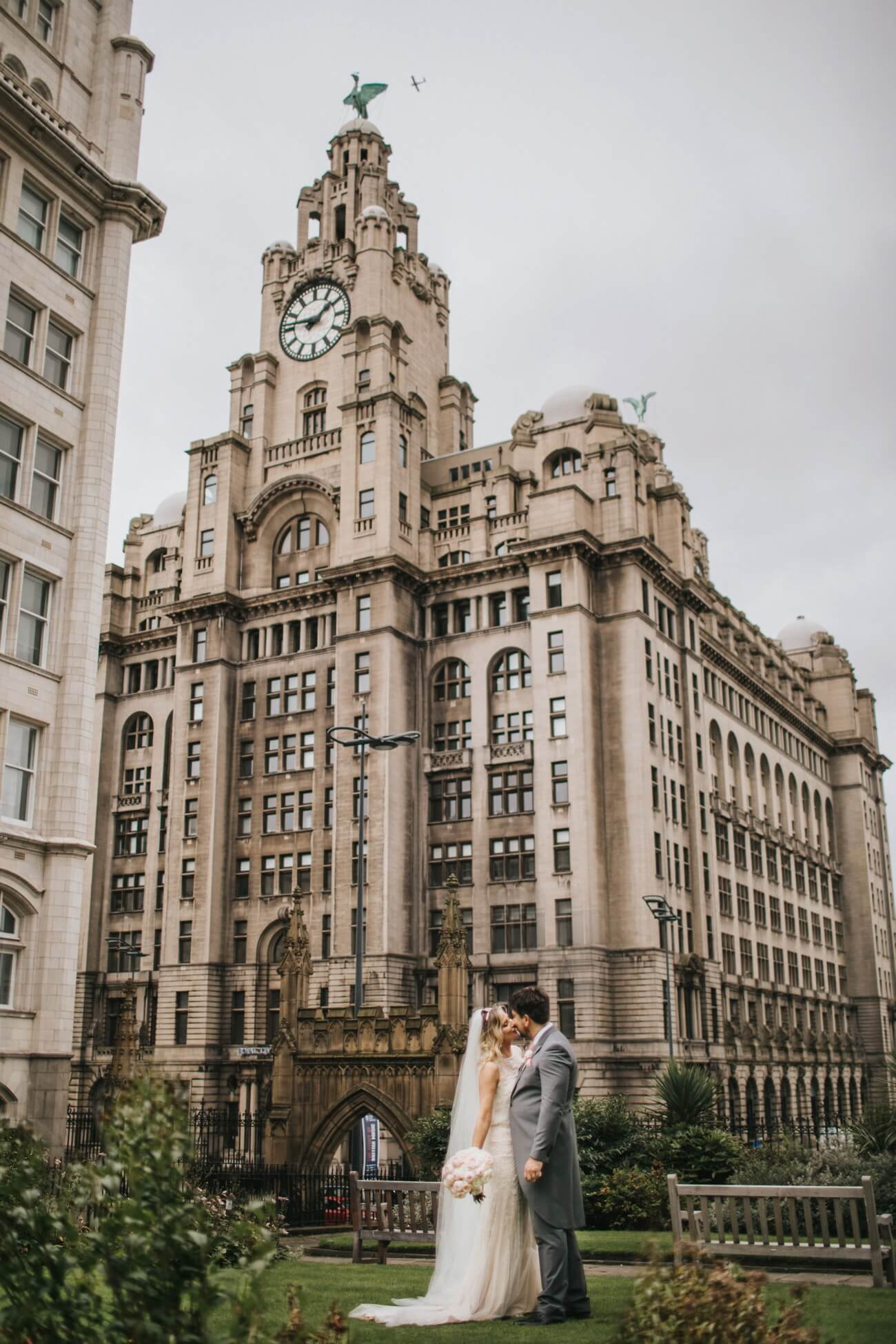 Liver building wedding photographer liverpool wedding photography