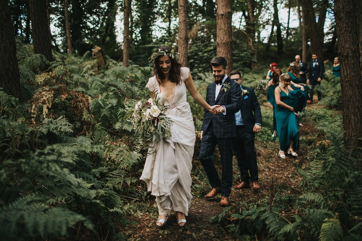 Natural retreats wedding photographer Yorkshire wedding photography Richmond