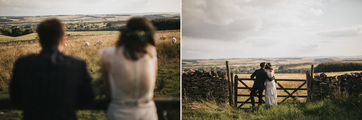 Natural retreats wedding yorkshire photographer Richmond wedding photography