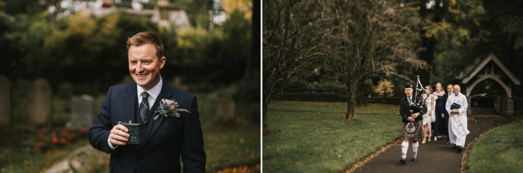 Losehill House wedding photographer Edale Peak district wedding