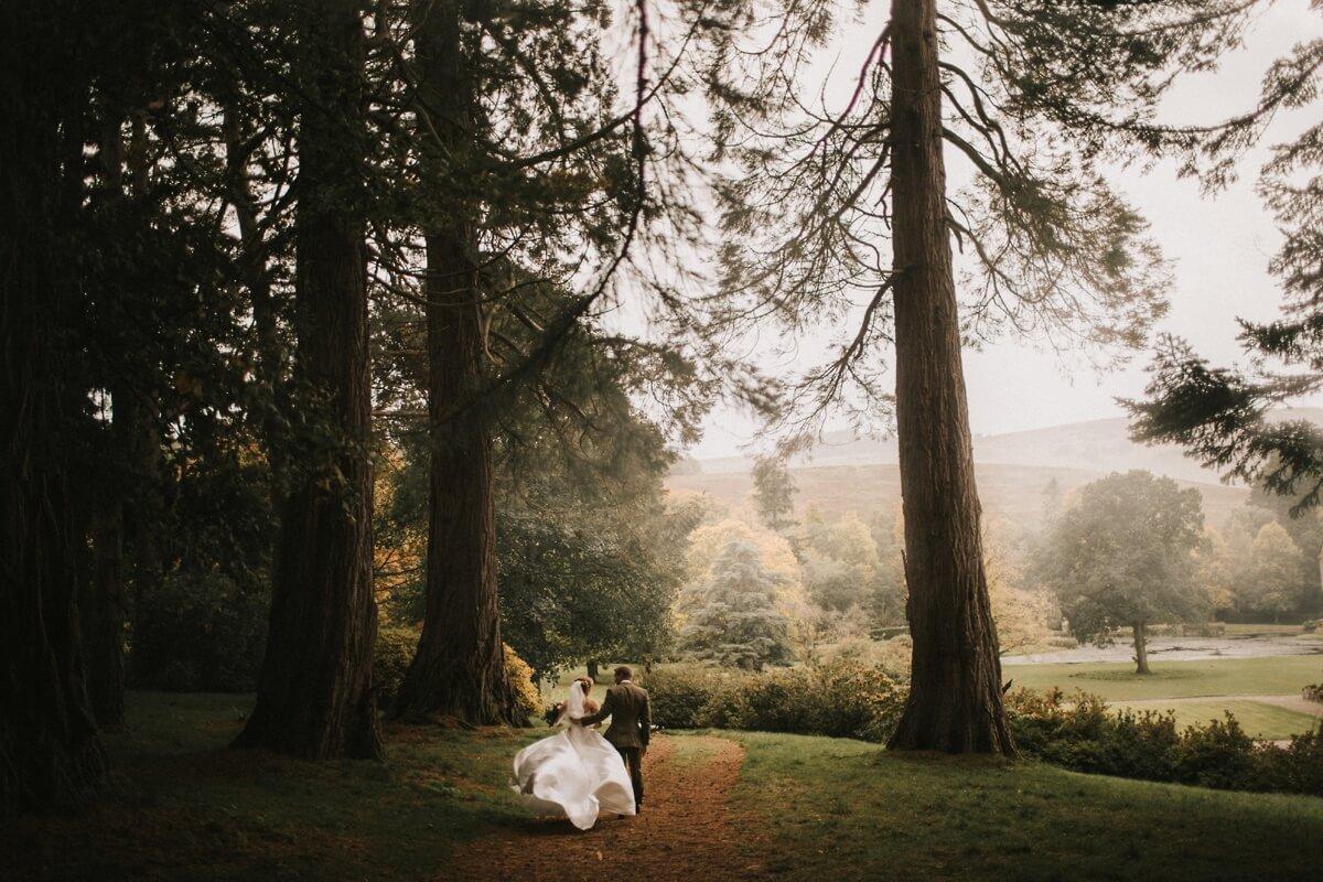 Duntreath Castle wedding photographer Scotland wedding photography Elopement Scotland