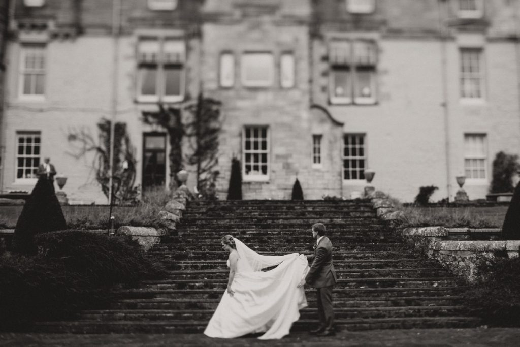 Duntreath Castle wedding photographer Scotland wedding photography Elopement Scotland