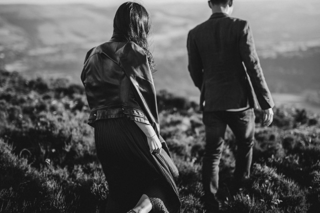 Peak District Proposal Castleton photography Derbyshire wedding photography