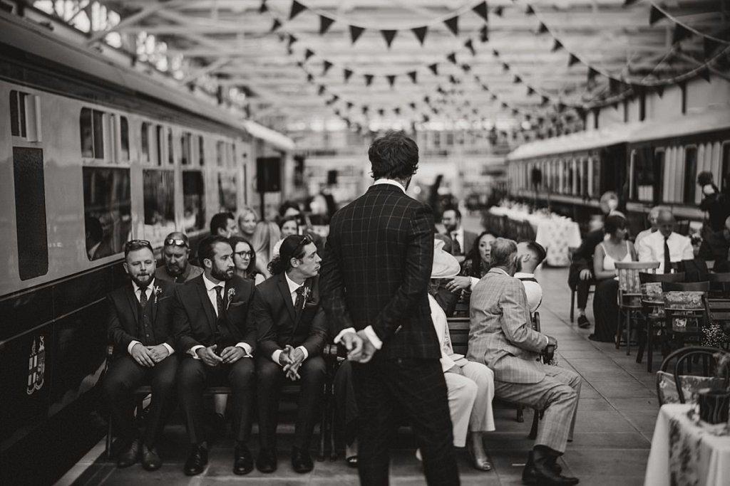 Buckinghamshire railway centre wedding Bucks wedding photography Railway wedding