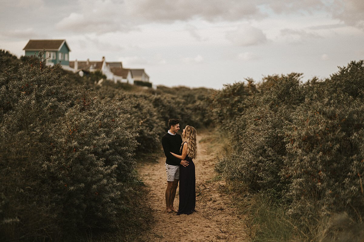 Beach couples session Lincolnshire wedding photographer uk photography