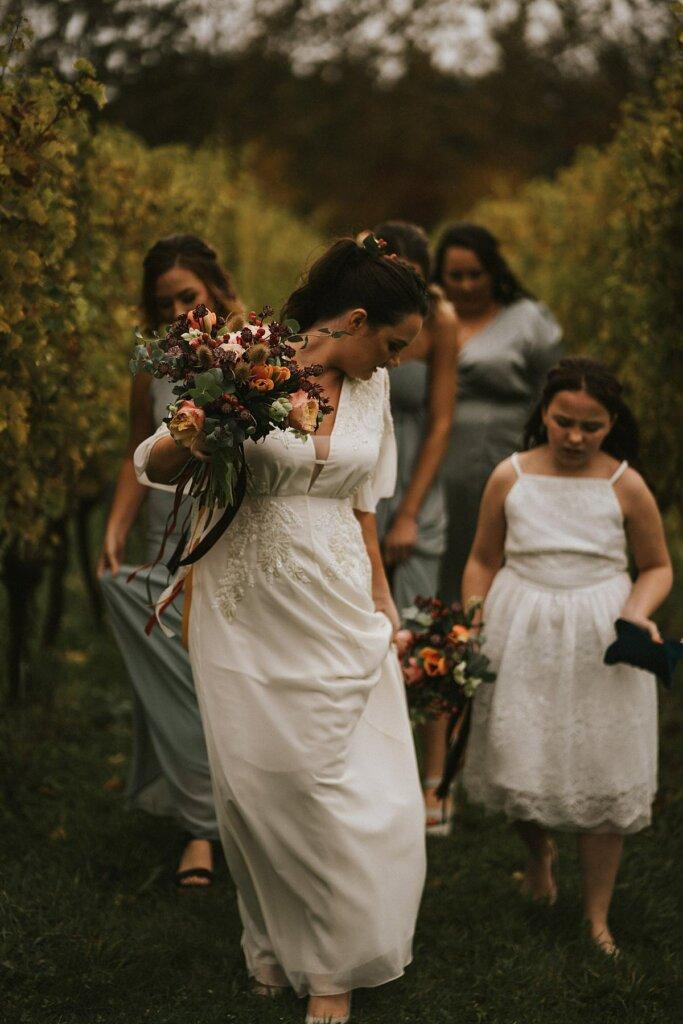 Brickhouse vineyard wedding photographer Devon wedding photography elopement
